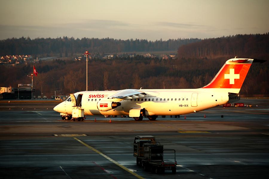 Swiss назначила последний рейс Слонёнка