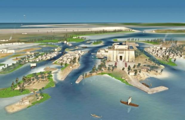 Ученые воссоздали легендарный город, затонувший 1200 лет назад
