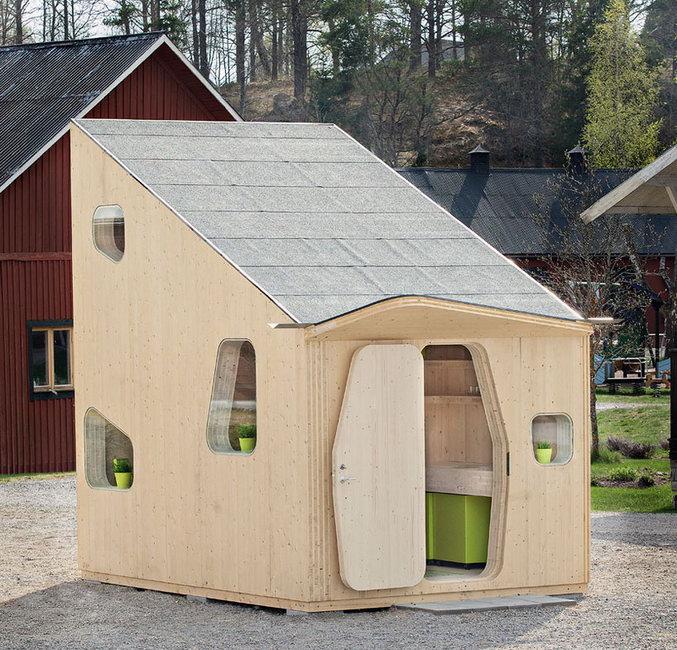 Очень  маленький  дом  для студента