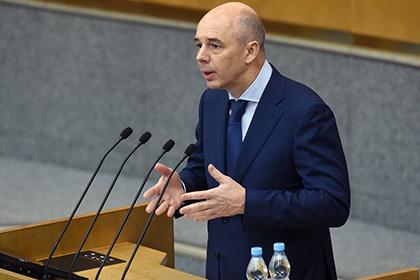 Силуанов пообещал рост доходов населения в следующем году
