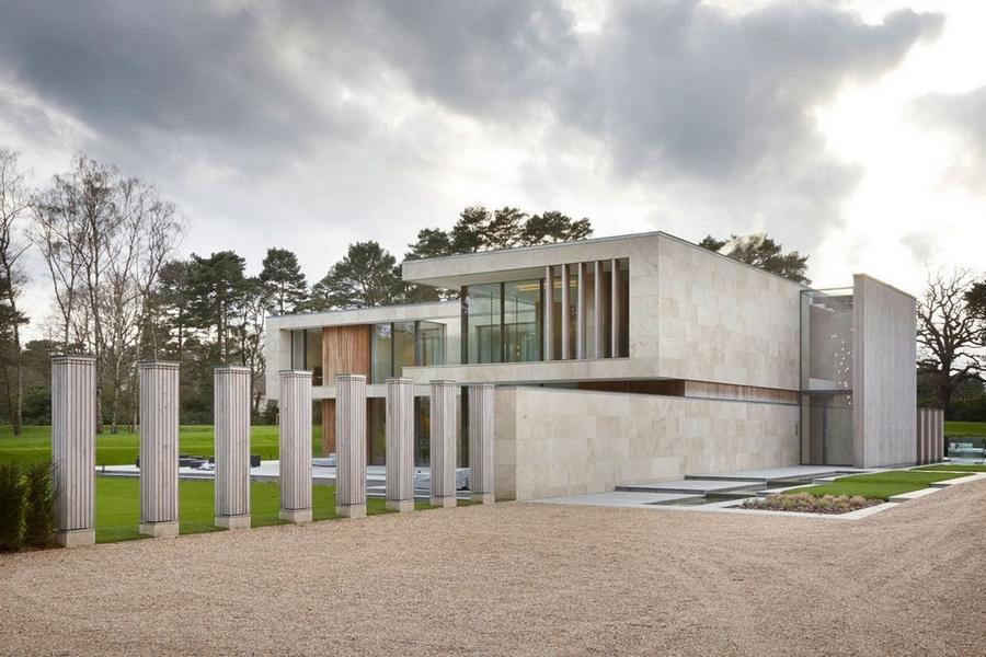 Особняк современной архитектуры в Англии