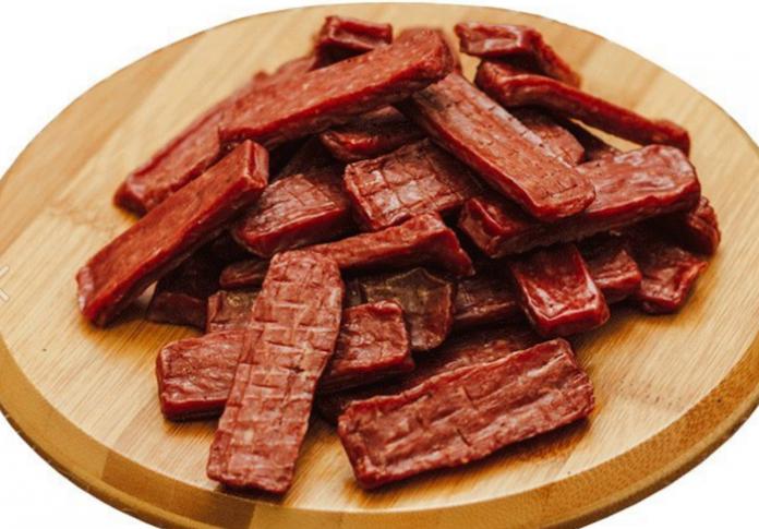Настоящий подарок для любого мужчины: Мясные чипсы