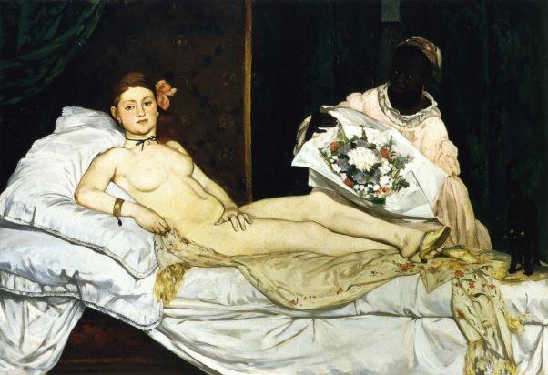 Олимпия. 1863. Эдуард Мане