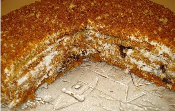 """Медовый торт """"Особенный"""""""