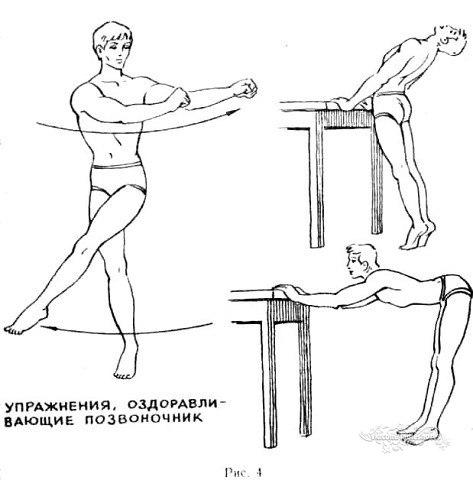 Помощь вашему позвоночнику!   Упражнения для красивой и здоровой спины!
