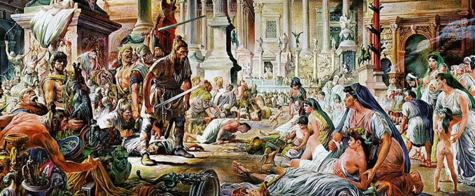 Как умирала Западная Римская империя