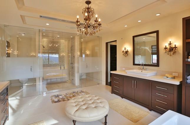 Ванные и гардеробные селебрити