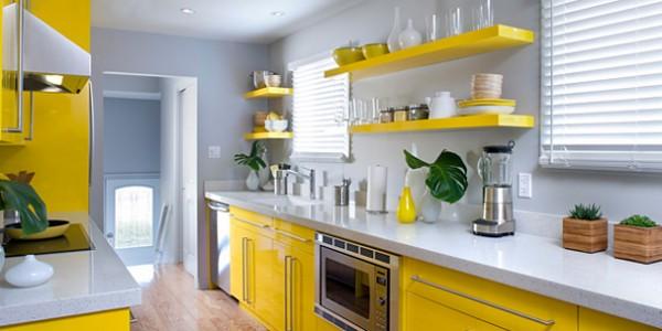 Желтые кухни-4