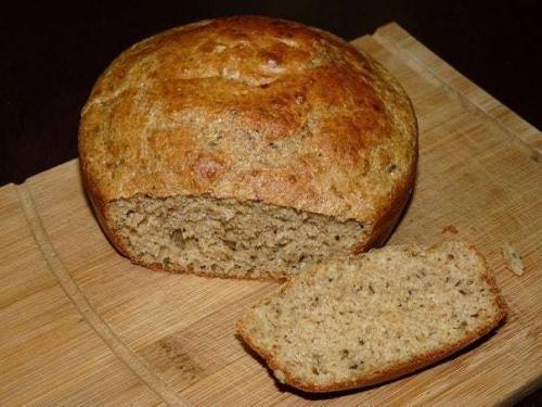 Полезный хлеб из отрубей.