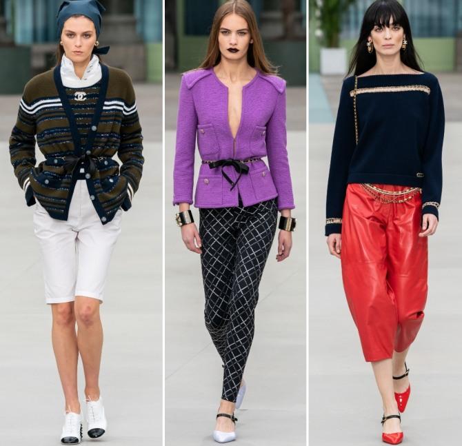 трикотажные кофты и джемперы 2020 от бренда Шанель