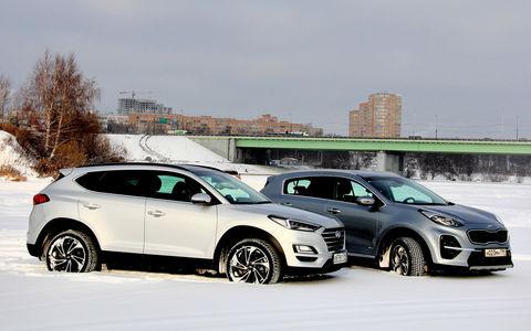 Kia Sportage — Hyundai Tucso…