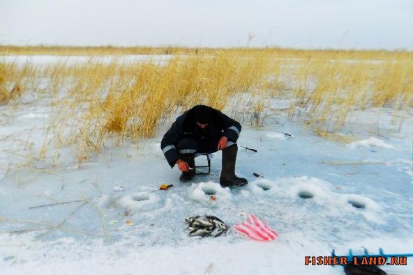 видео.зимняя рыбалка на урале