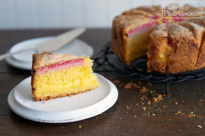 Вкусный пирог с ревенем — удачные рецепты из теста разных видов