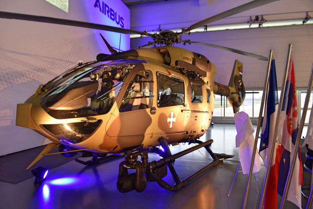 Сербия получила первый вертолет Н145М