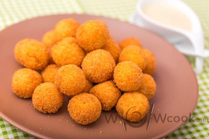 вкуÑные картофельные шарики