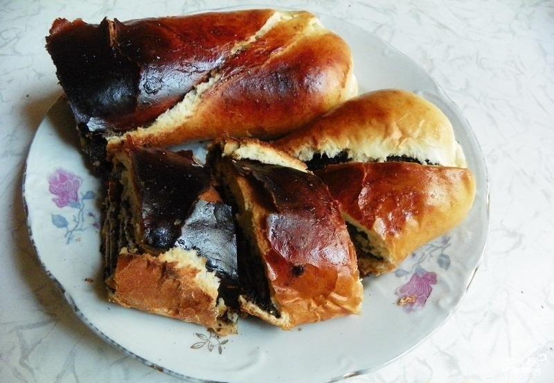 Штрудель маковый рецепт с пошагово