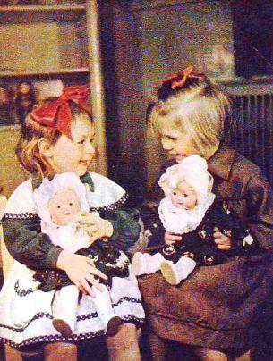 Игрушки советских девочек