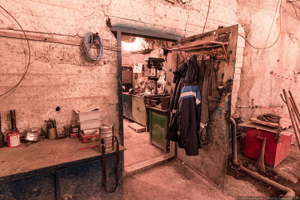 Кировский рудник в Хибинах