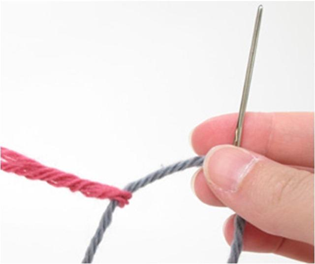 Для тех, кто вяжет. Соединение нитей без узла