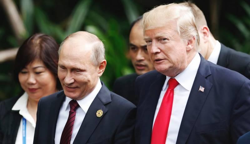 В МИД считают, что в США хотят сорвать встречу Путина и Трампа