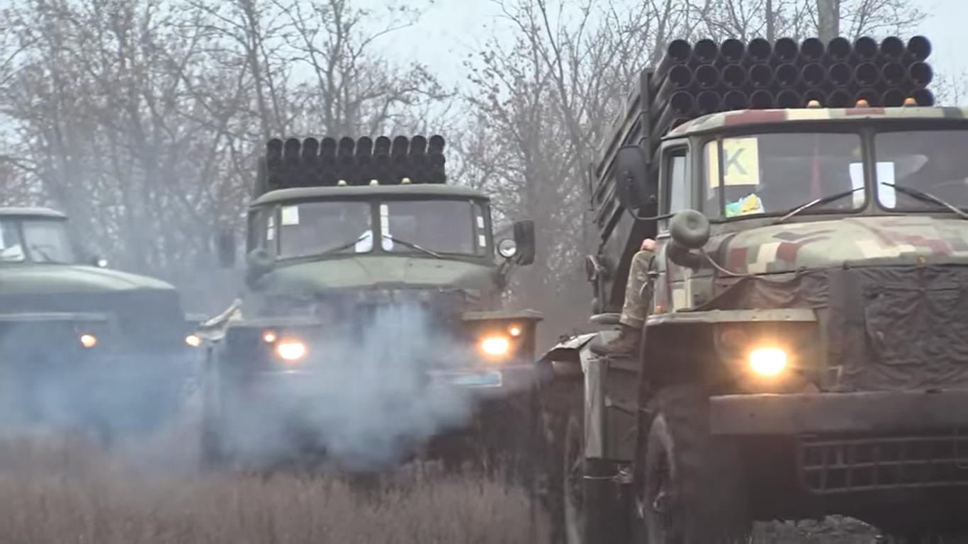 Каратели готовят Грады к «перемирию» — в ООС объявили о возможности применения РСЗО на Донбассе