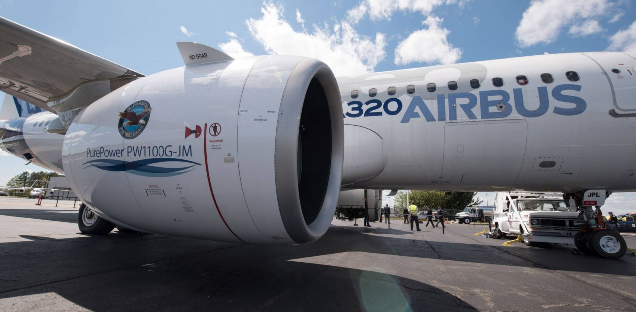 Проблемы с двигателями Pratt & Whitney бьют по Airbus