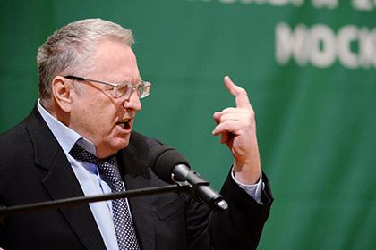 Жириновский предложил приставить к каждому министру силовика