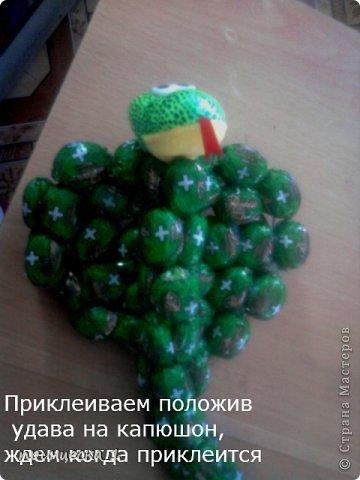 Мастер-класс Новый год Моделирование конструирование МК по конфетной кобре фото 15