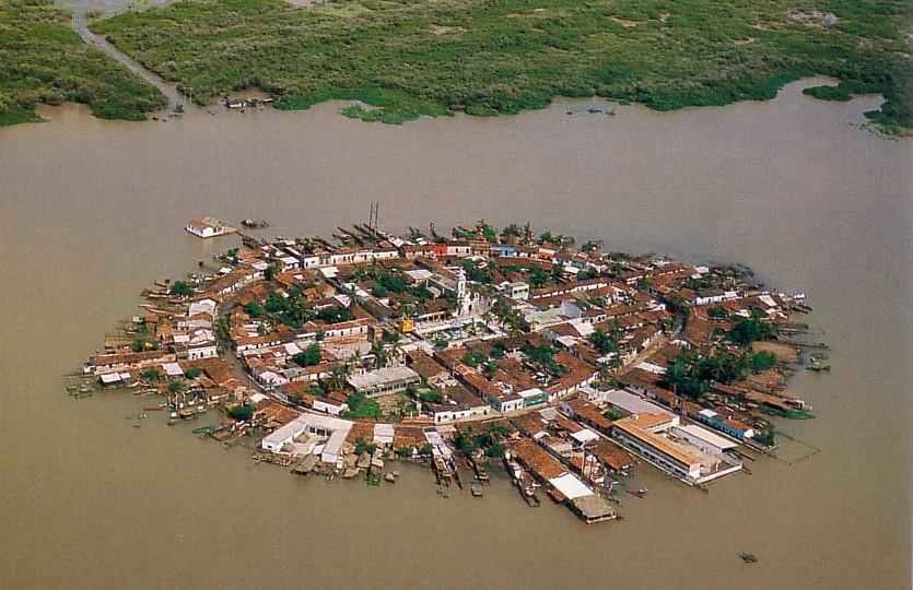 Мескальтитан - город на воде