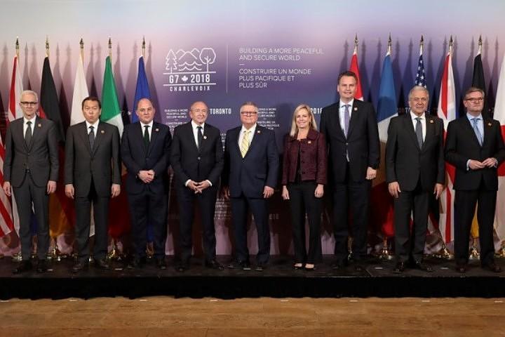 На саммите G7 в Торонто обсуждали действия России в Сирии и на Украине