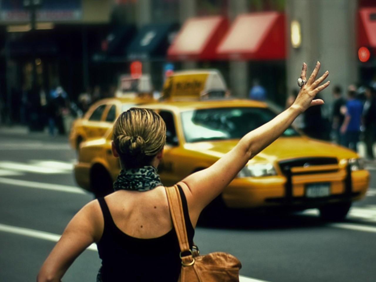 Жена таксиста.... Улыбнемся))