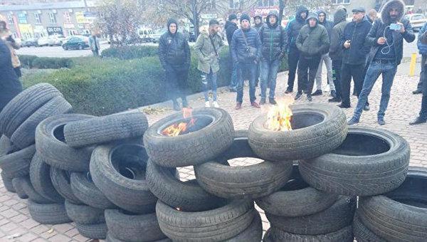 Холодные бунты по всей Украи…
