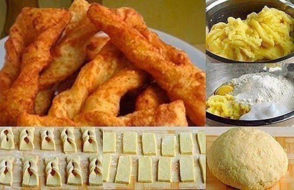 Картофельный хворост - идеальный гарнир к мясу и рыбе