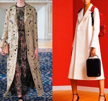 Модные женские пальто сезона весна-лето 2017