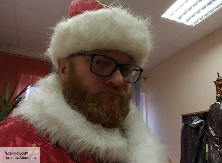 Милонов и  Захарова рассказали, что они попросили у Деда Мороза