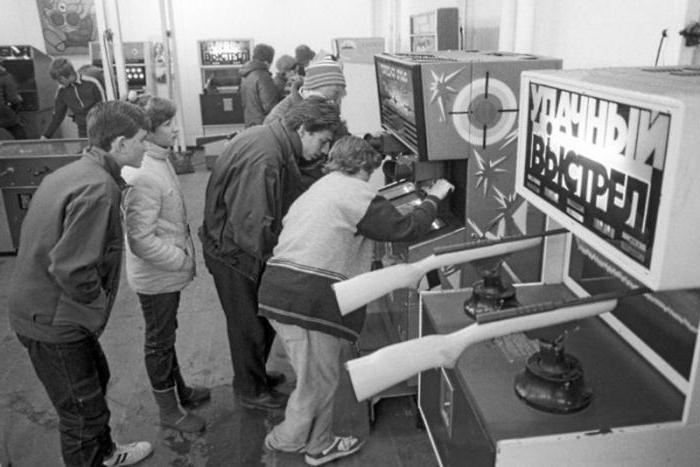 Игровые автоматы времен СССР. Счастье за 15 копеек