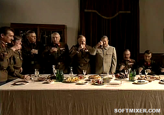 Антисоветская еда советских вождей