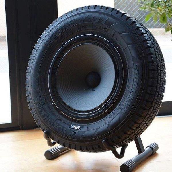 звуковая система из шины