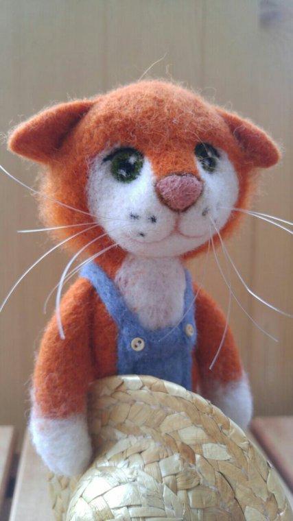Сказочный мир кота Барсика в детской книге о доброте и любви