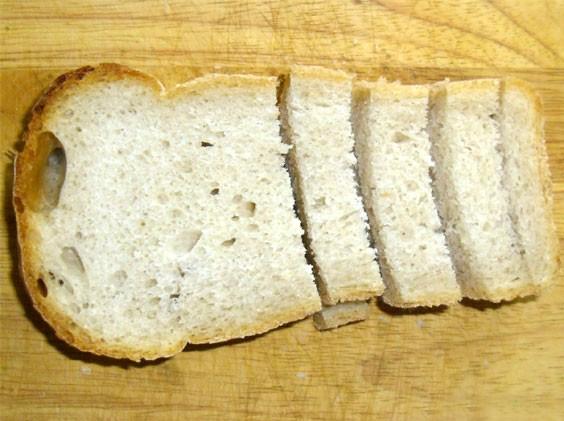Как из белого хлеба сделать сухарики в духовке