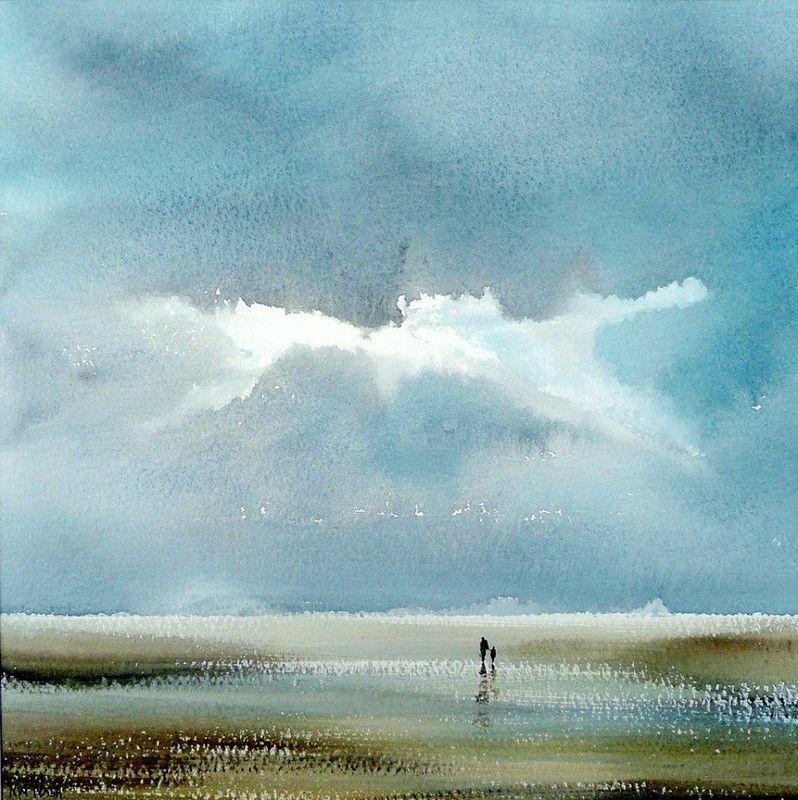 Лёгкие акварели британского художника Keith Nash
