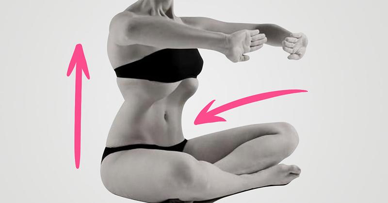 Полезные упражнения для плоского живота и тонкой талии