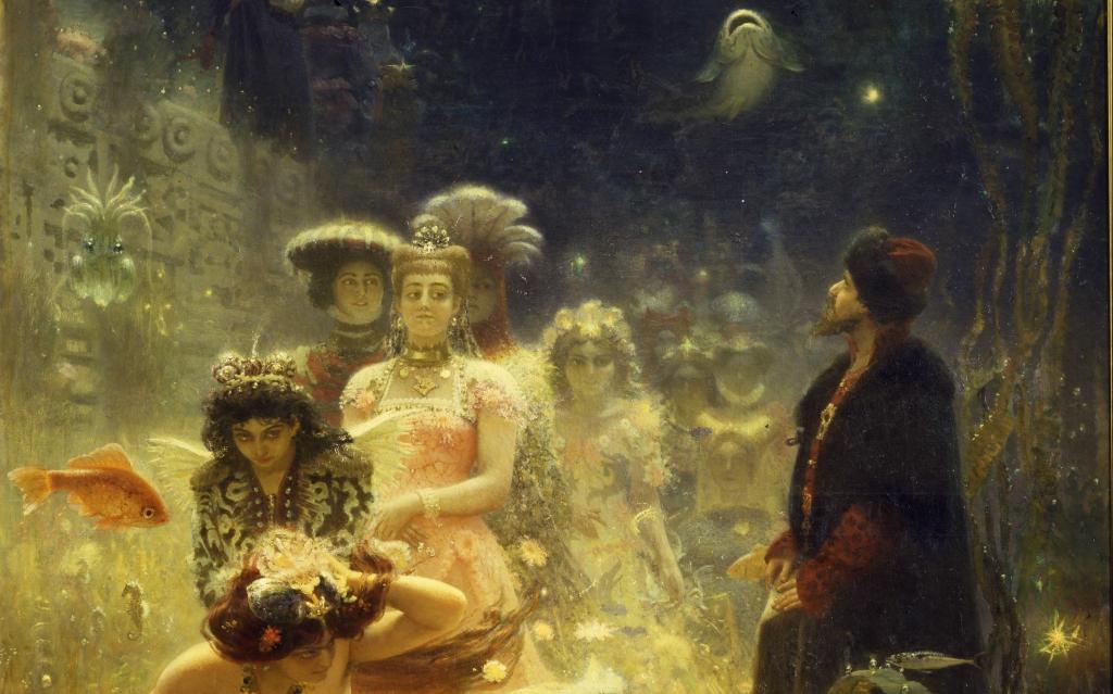 Самая «французская» картина Ильи Репина