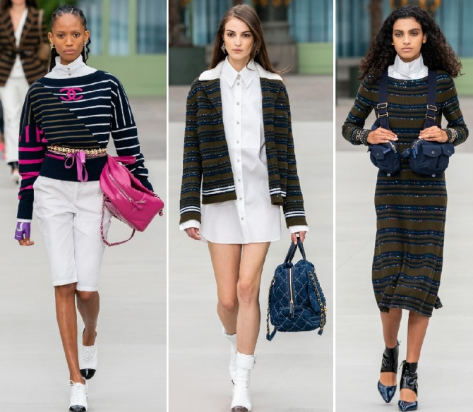 отпускная трикотажная одежда - мода 2020 года