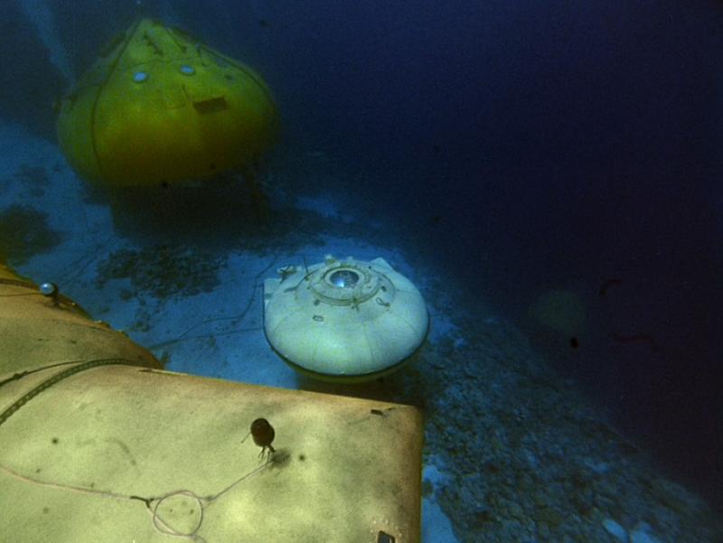 Жизнь и работа на дне океана знаменитого Кусто