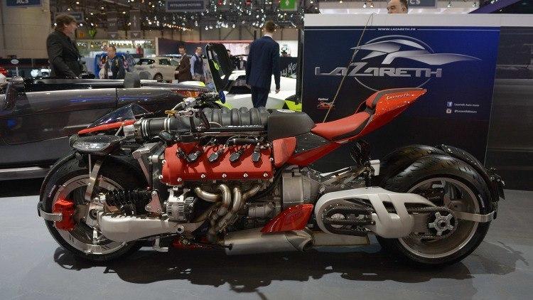 Мотоцикл с двигателем 4.7 от Maserati