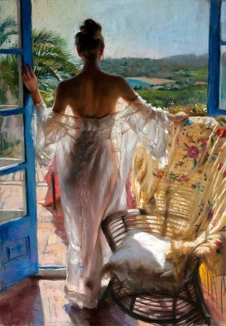 Нежные и романтичные красавицы Vicente Romero Redondo