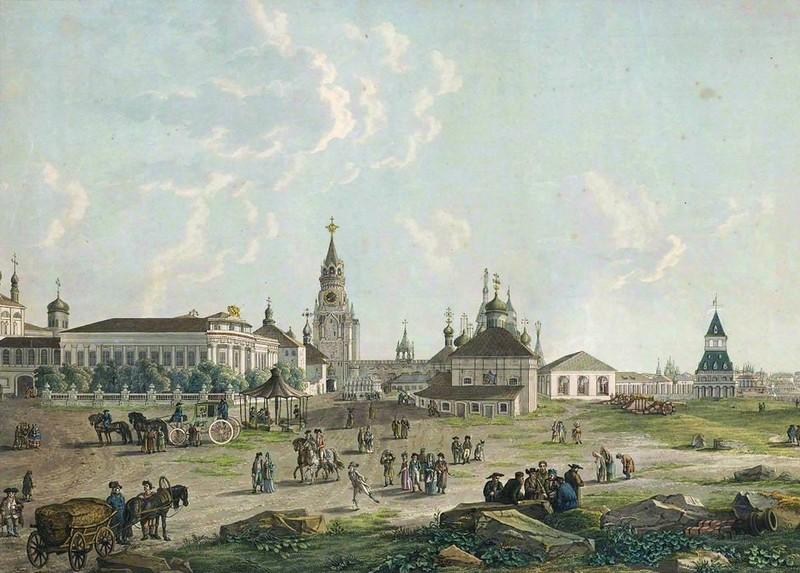 Как выглядела Москва конца XVIII века до большого пожара 1812 года
