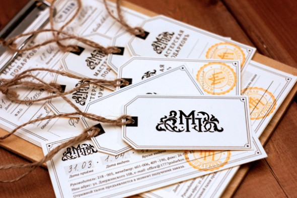 Вдохновляющие примеры визиток и фирменного стиля