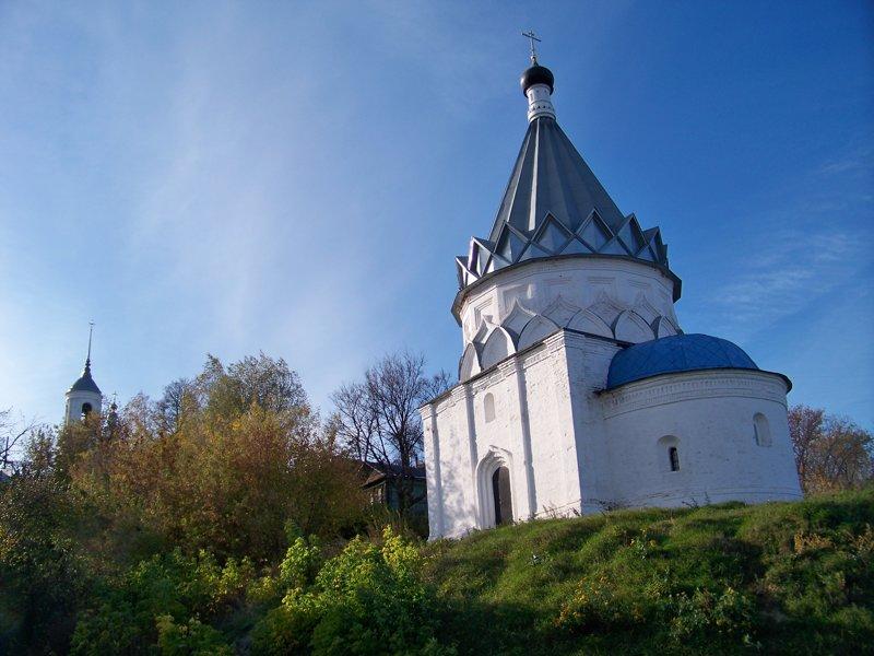 Церковь Космы и Дамиана - возведена на месте где когда-то стоял шатер Ивана Грозного Города России, Илья Муромец, Муром, красивые места, пейзажи, путешествия, россия
